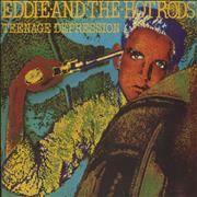 Click here for more info about 'Eddie And The Hot Rods - Teenage Depression + Poster'
