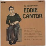 Eddie Cantor The Greatest Hits Of Eddie Cantor UK vinyl LP