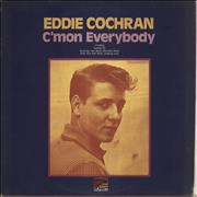 Click here for more info about 'Eddie Cochran - C'mon Everybody - Laminated Sleeve'
