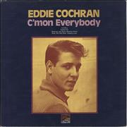 Click here for more info about 'Eddie Cochran - C'mon Everybody - Textured Sleeve'