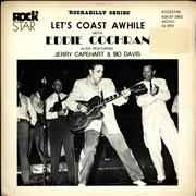 Click here for more info about 'Eddie Cochran - Let's Coast Awhile + Sleeve'