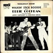 Click here for more info about 'Eddie Cochran - Walkin' Stick Boogie EP'