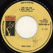 Click here for more info about 'Eddie Floyd - Yum Yum Yum (I Want Some) - WOL'