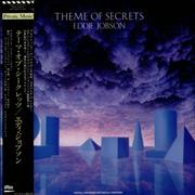 Eddie Jobson Theme Of Secrets Japan vinyl LP Promo