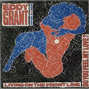 Click here for more info about 'Eddy Grant - Living On The Frontline'