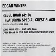 Click here for more info about 'Edgar Winter - Rebel Road'