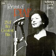 Click here for more info about 'Edith Piaf - Portrait Of Piaf - 25 Of Her Greatest Hits'
