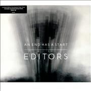 Click here for more info about 'Editors - An End Has A Start - Clear vinyl'
