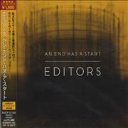 Click here for more info about 'Editors - An End Has A Start'