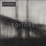 """Editors Push Your Head Towards The Air - 0004 UK 7"""" vinyl"""