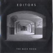 Click here for more info about 'Editors - The Back Room - Album Sampler'
