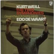 Click here for more info about 'Edo De Waart - Kurt Weill: The Two Symphonies'