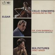 Click here for more info about 'Edward Elgar - Cello Concerto / Sea Pictures - 1st'