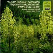 Click here for more info about 'Edward Elgar - Elgar: Enigma Variations / Brahms: Variations on a theme by Haydn'