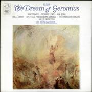 Click here for more info about 'Edward Elgar - The Dream of Gerontius - colour stamp label'