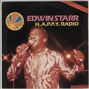 Click here for more info about 'Edwin Starr - H.A.P.P.Y. Radio - Red Vinyl'