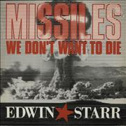 Click here for more info about 'Edwin Starr - Missiles - We Don't Want To Die'