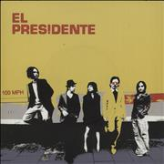 Click here for more info about 'El Presidente - 100 Mph - Yellow Vinyl'