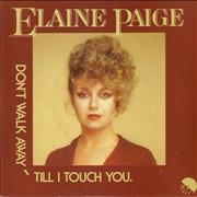 Click here for more info about 'Elaine Paige - Don't Walk Away Till I Touch You'