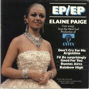 Click here for more info about 'Elaine Paige - EP/EP'