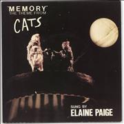 Click here for more info about 'Elaine Paige - Memory - P/s'