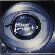 Click here for more info about 'Elbow - Powder Blue - Blue Vinyl'