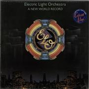 Click here for more info about 'Electric Light Orchestra - A New World Record - Red - Stickered'