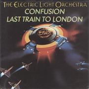 "Electric Light Orchestra Confusion - Wide Centre + Picture Sleeve UK 7"" vinyl"