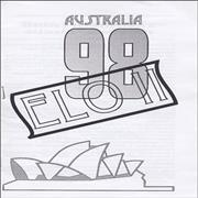 Click here for more info about 'Electric Light Orchestra - ELO II Australia '98 - Tour Itinerary'