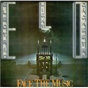 Electric Light Orchestra Face The Music - 1st UK vinyl LP