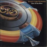 Electric Light Orchestra Out Of The Blue + Poster & Insert USA 2-LP vinyl set
