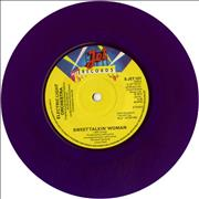 Click here for more info about 'Electric Light Orchestra - Sweet Talkin' Woman - Purple Vinyl'