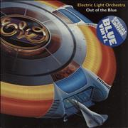 Click here for more info about 'Electric Light Orchestra - Out Of The Blue - Blue Vinyl + Poster - Stickered Sleeve - EX'