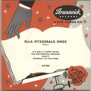 Click here for more info about 'Ella Fitzgerald - Ella Fitzgerald Sings Volume 1'