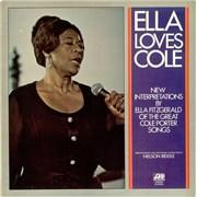 Click here for more info about 'Ella Fitzgerald - Ella Loves Cole'