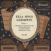 Click here for more info about 'Ella Fitzgerald - Ella Sings Gershwin Volume 1 EP'