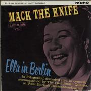 Click here for more info about 'Ella Fitzgerald - Mack The Knife - Ella In Berlin - 1st'