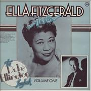 Click here for more info about 'Ella Fitzgerald - Sings The Duke Ellington Songbook Volume 1'