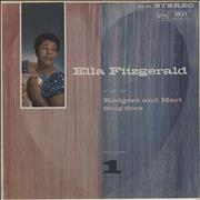 Click here for more info about 'Ella Fitzgerald - Sings The Rodgers And Hart Song Book Volume 1'