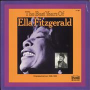 Click here for more info about 'Ella Fitzgerald - The Best Years Of Ella Fitzgerald'