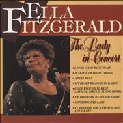 Click here for more info about 'Ella Fitzgerald - The Lady In Concert'