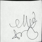Click here for more info about 'Ellie Goulding - Autograph'