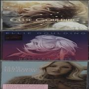 Click here for more info about 'Ellie Goulding - Bright Lights / Halcyon / Delirium'