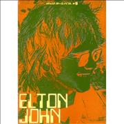 Click here for more info about 'Elton John - 1971 Japan Tour + Ticket Stub'