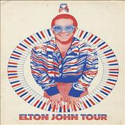 Click here for more info about 'Elton John - 1974 Tour + photo'