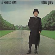 Elton John A Single Man UK vinyl LP