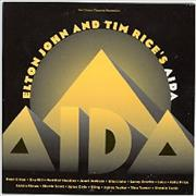Click here for more info about 'Elton John - Aida - Withdrawn Disney Sleeve'