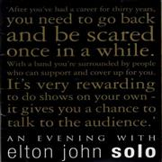 Click here for more info about 'Elton John - An Evening With Elton John Solo'