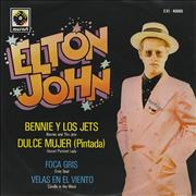 Click here for more info about 'Elton John - Bennie Y Los Jets - Benny & The Jets'