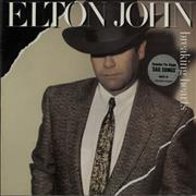 Click here for more info about 'Elton John - Breaking Hearts - Stickered Sleeve'